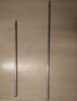 Grooved rod